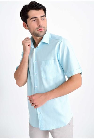Hatemoğlu Erkek Kısa Kol Klasik Gömlek