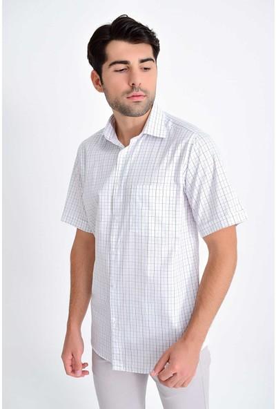 Hatemoğlu Erkek Kareli Kısa Kol Gömlek