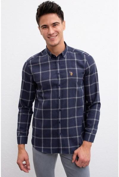 U.S. Polo Assn. Erkek Dokuma Gömlek 50207054-Vr033