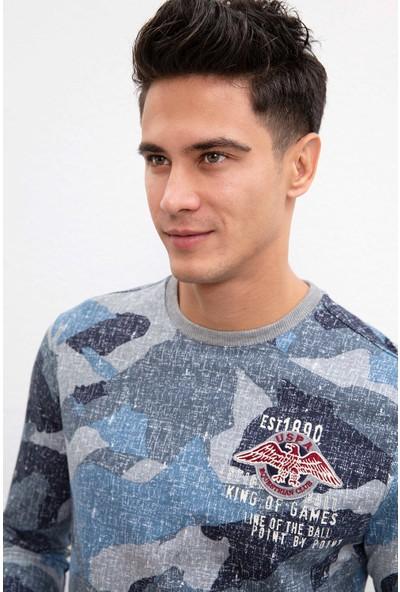 U.S. Polo Assn. Erkek Sweatshirt 50207557-Vr059