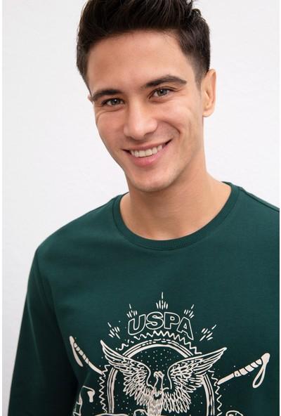 U.S. Polo Assn. Erkek Sweatshirt 50208646-Vr079