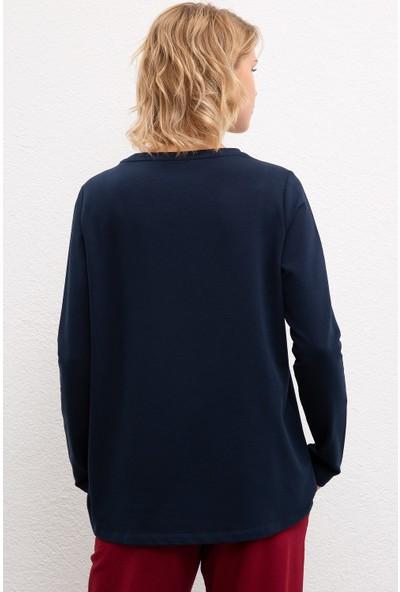 U.S. Polo Assn. Kadın Sweatshirt 50216088-Vr033