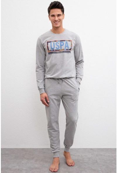 U.S. Polo Assn. Erkek Pijama 50223335-Vr086