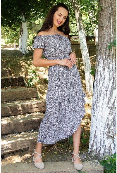 Hds Hadise Kadın Siyah Desenli Bluz Etek Takım 201610