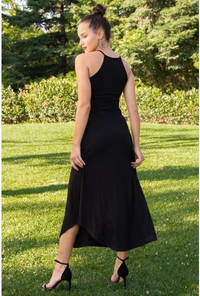 Hds Hadise Kadın Siyah İpli Elbise 58826