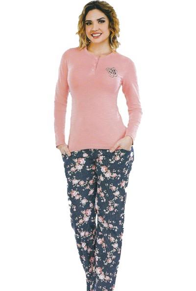 Berland 3079 Kadın Kışlık Pijama Takım
