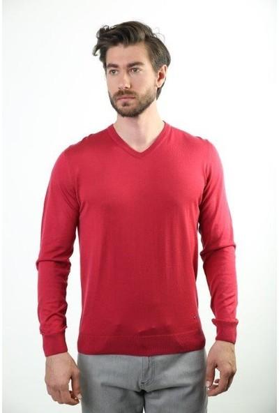Sweater V Yaka Erkek Triko 2697