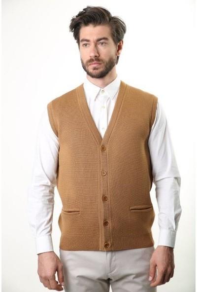 Sweater V Yaka Erkek Yelek 3199
