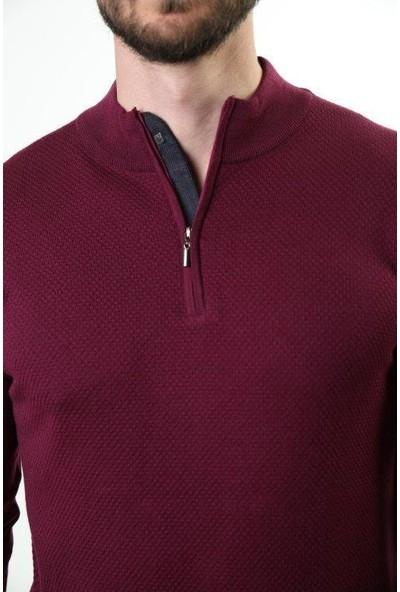 Sweater Yarım Balıkçı Dik Yaka Erkek Triko 3320
