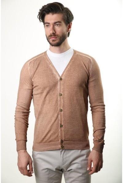 Sweater V Yaka Erkek Hırka 3381