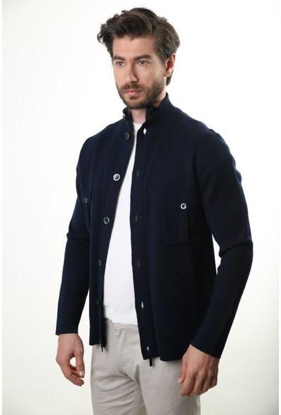 Sweater Yarım Balıkçı Yaka Erkek Kışlık Ceket Sw-2246