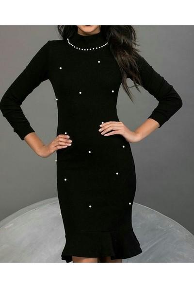 Queens Giyim Kadın Günlük Elbise