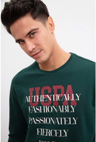 U.S. Polo Assn. Erkek Sweatshirt 50208665-Vr079