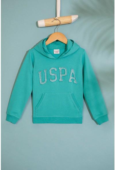 U.S. Polo Assn. Kız Çocuk Sweatshirt 50216792-Vr090
