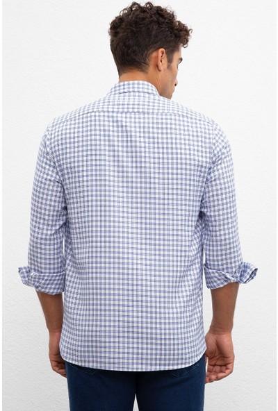 U.S. Polo Assn. Erkek Dokuma Gömlek 50219804-Vr033