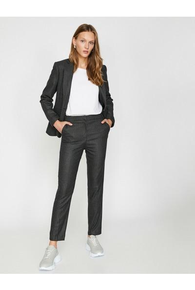 Koton Kadın Cep Detaylı Pantolon