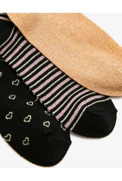 Koton Kadın 3'lü Çorap