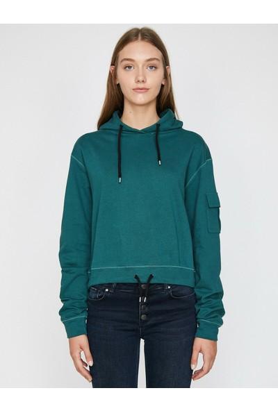 Koton Kadın London Sweatshirt