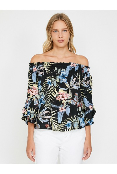 Koton Kadın Çiçekli Bluz