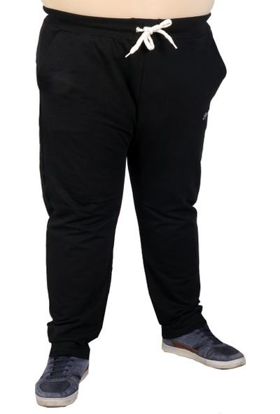 ModeXL Büyük Beden Erkek Eşofman Altı Klasik 21100 Indigo