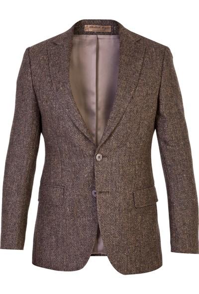 Kiğılı İtalyan Klasik Yün Kuşgözü Ceket