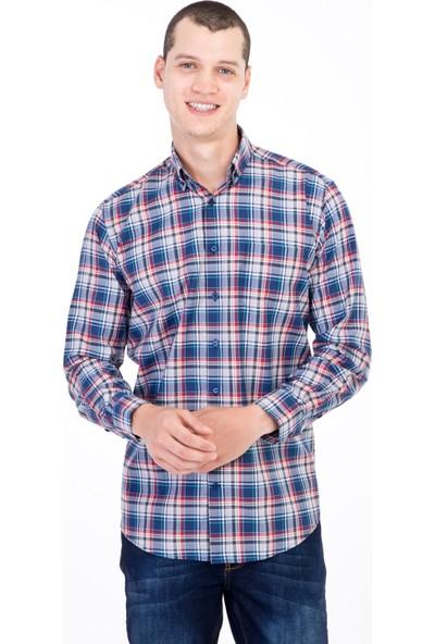 Kiğılı Uzun Kol Ekose Gömlek