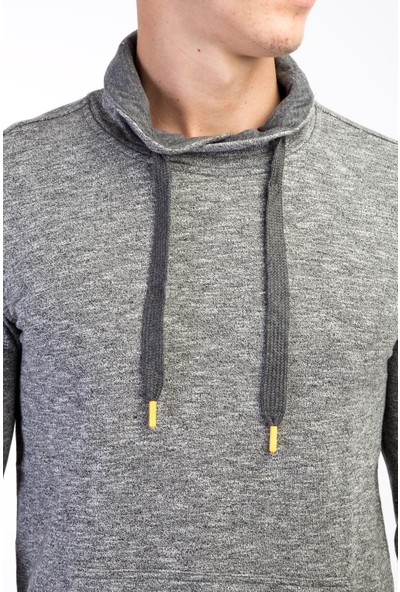 Kiğılı Balıkçı Yaka Slim Fit Sweatshirt