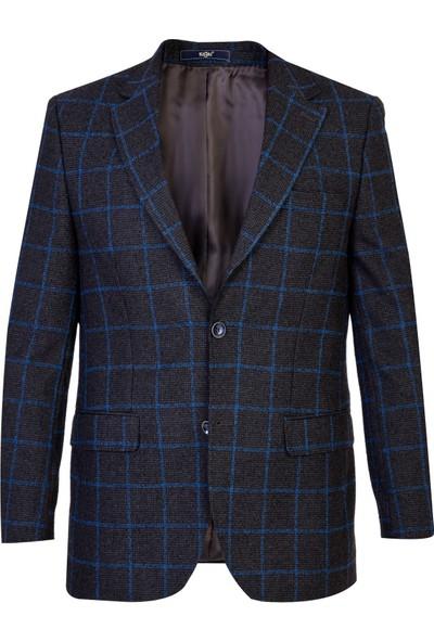 Kiğılı Klasik Kareli Ceket