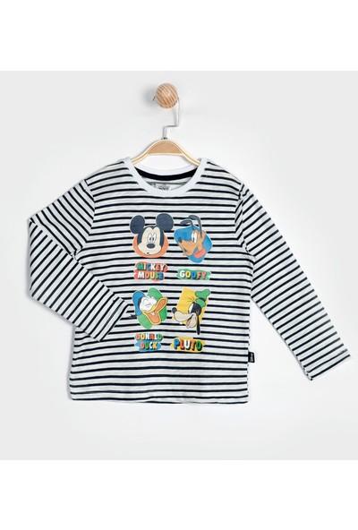 Mickey Mouse Uzun Kol Tişört 15844