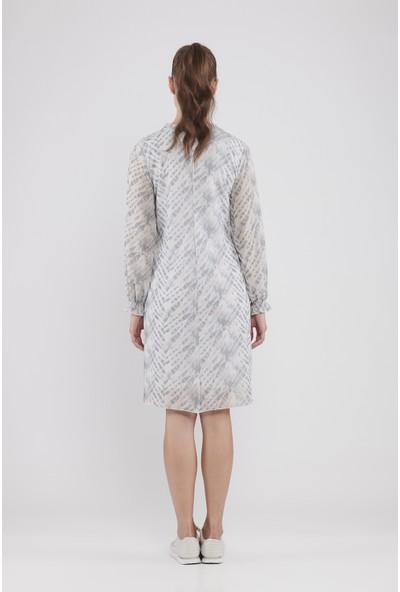 Lyn Devon Hamile Kadın Trace Elbise - Bulut