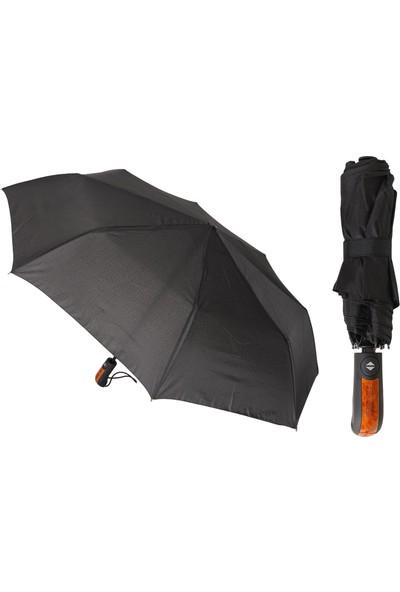 Transformacion Tam Otomatik Siyah Erkek Şemsiyesi