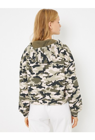 Koton Kadın Sweatshirt 0KAF10899GK11B