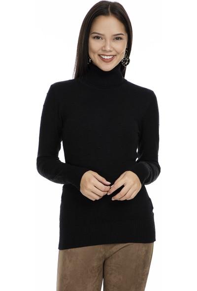 Fashion Friends Balıkçı Yaka Kadın Kazak K0784