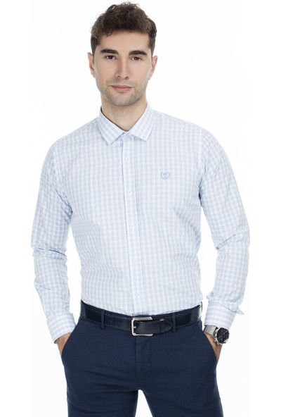 Sabri Özel Uzun Kollu Slim Fit Gömlek Erkek Uzun Kollu Gömlek 5431646