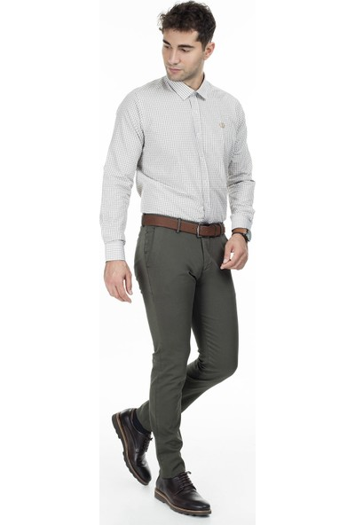 Sabri Özel Uzun Kollu Slim Fit Gömlek Erkek Uzun Kollu Gömlek 5431647