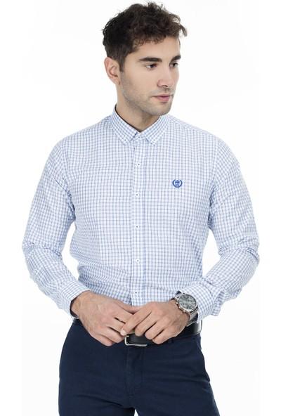 Sabri Özel Uzun Kollu Slim Fit Gömlek Erkek Uzun Kollu Gömlek 5431649