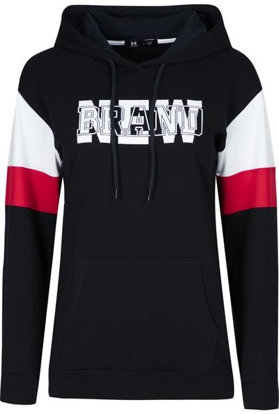 New Brand Kapüşonlu Kız Çocuk Sweatshirt N05KG-02735