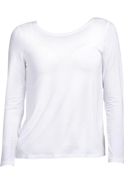 Vena 29124 Kadın Sweatshirt Beyaz