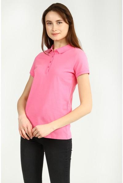Collezione Kadın T-Shirt Kısa Kol Pinks