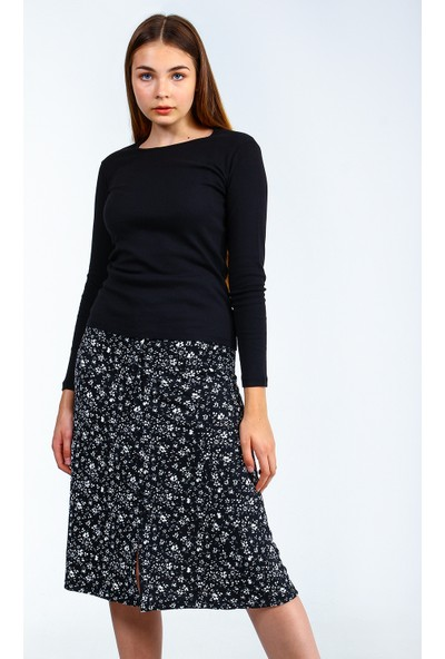 Collezione Kadın T-Shirt Uzun Kol Denver