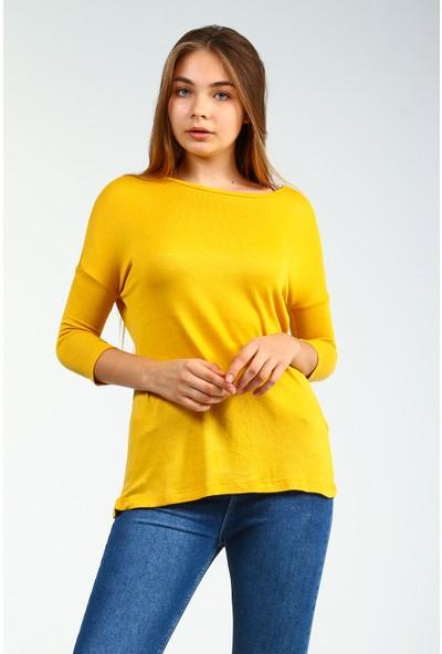 Collezione Kadın T-Shirt Uzun Kol Dakato