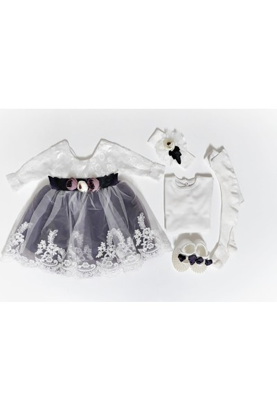 Petite Ponpon Baby Premium Kız Mevlüt Seti 3 - 6 Ay
