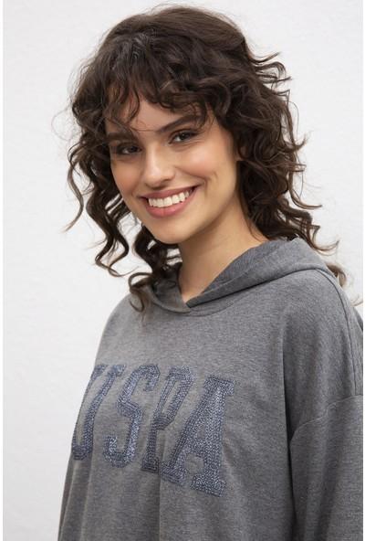 U.S. Polo Assn. Kadın Sweatshirt 50215057-Vr081