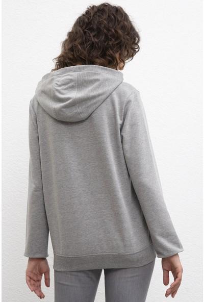 U.S. Polo Assn. Kadın Sweatshirt 50216089-Vr086
