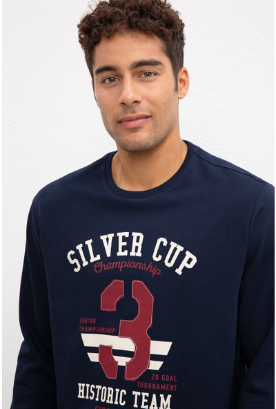 U.S. Polo Assn. Erkek Sweatshirt 50208656-Vr033