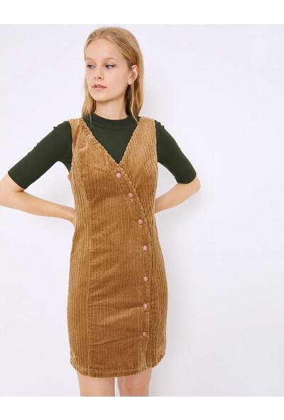 Koton Kadın Elbise Kahverengi 0KAF80161GW520