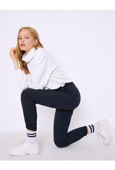 Koton Kadın Pantolon Lacivert 0KAF40616GW01M