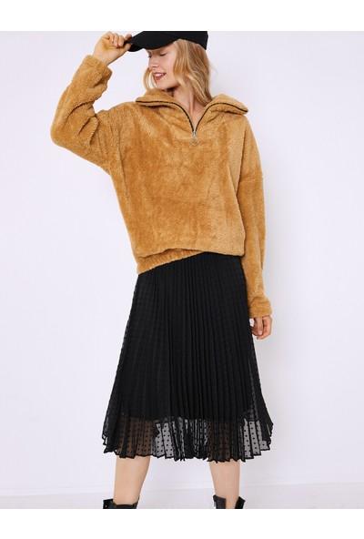 Koton Kadın Sweatshirt 0KAF10804GK502