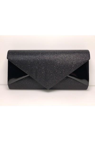 Modames Siyah Kadın Portföy Çanta