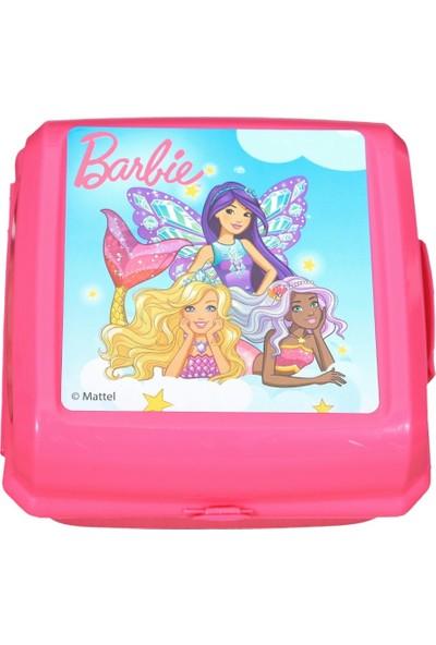 Barbie Plastik Beslenme Kabı Kutusu